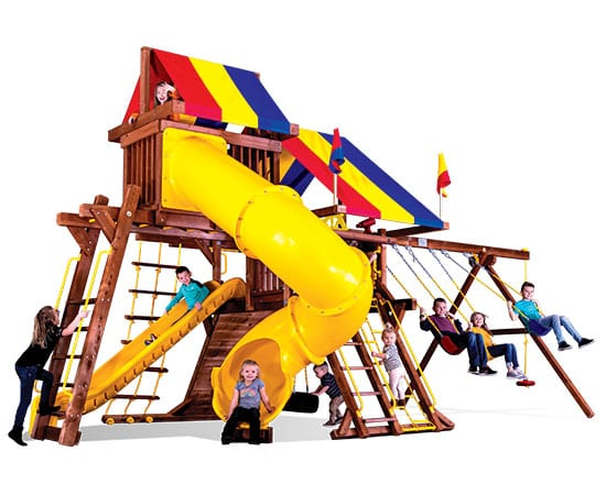 13H-Sunshine-Castle-Pkg-V-with-270-Spiral-Slide-A1-Cut