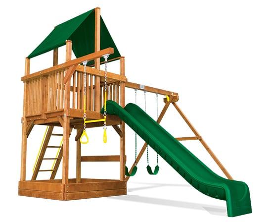 Rainbow Play Systems - 33C Sunshine Clubhouse