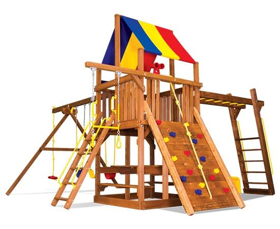 Rainbow Play Systems - 35G Sunshine Clubhouse